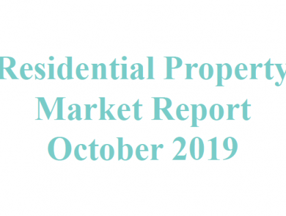 Wealth Pi Fund Residential Property Market Report - October 2019