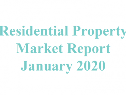 Wealth Pi Fund Residential Property Market Report - January 2020